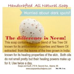 Neem Soap for Rosacea